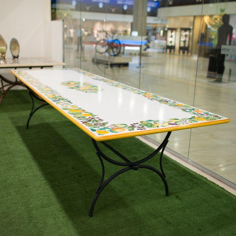 стол прямоугольный из натурального камня Eva300100 столы для улицы
