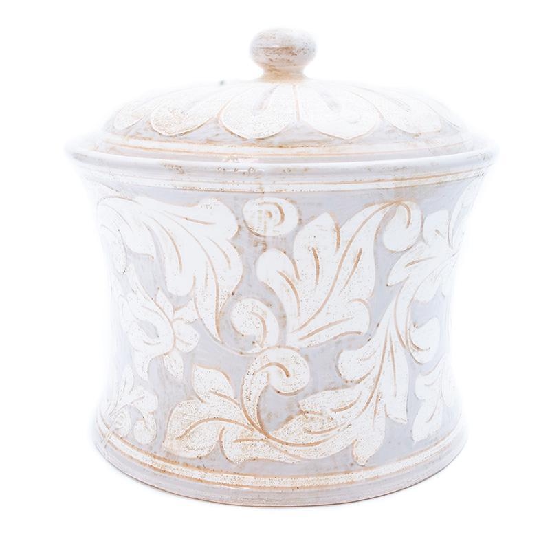 Емкость для хранения из фактурной керамики Scalfito