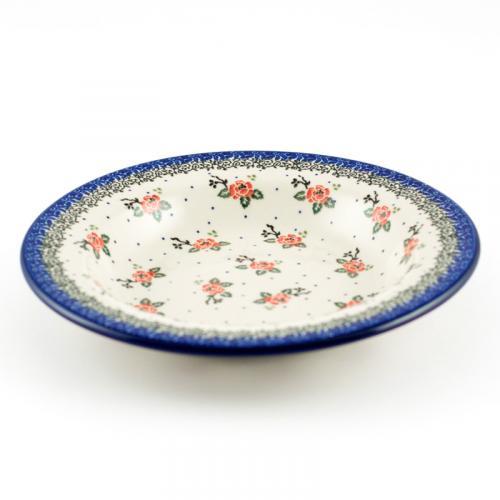 """Набор оригинальных тарелок для супа """"Чайная роза"""", 6 шт - фото"""
