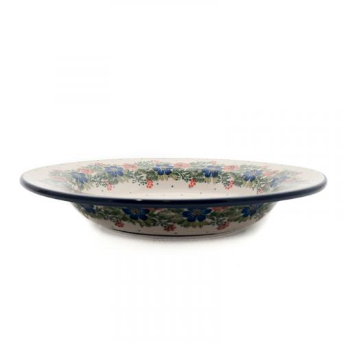 Тарелка для супа Ceramika Artystyczna Лесной веночек 23 см - фото