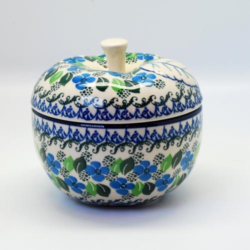 """Горшочек-яблоко для запекания из керамики """"Вербена"""" - фото"""