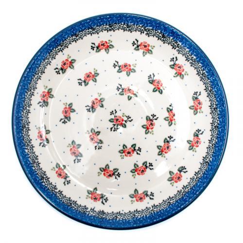 """Набор десертных тарелок с цветами """"Чайная роза"""", 6 шт - фото"""