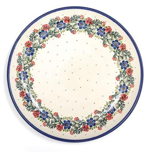 """Тарелка десертная из высокопрочной керамики """"Лесной веночек"""" - фото"""