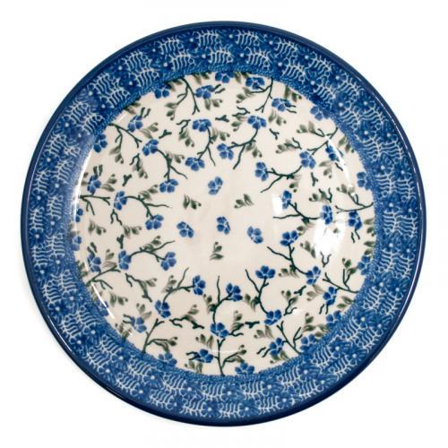 """Набор из 6-ти голубых десертных тарелок """"Летний ветерок"""" - фото"""