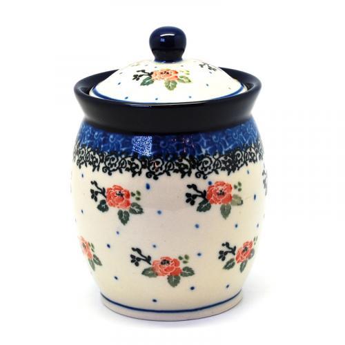 """Баночка для специй из прочной керамики """"Чайная роза"""" - фото"""