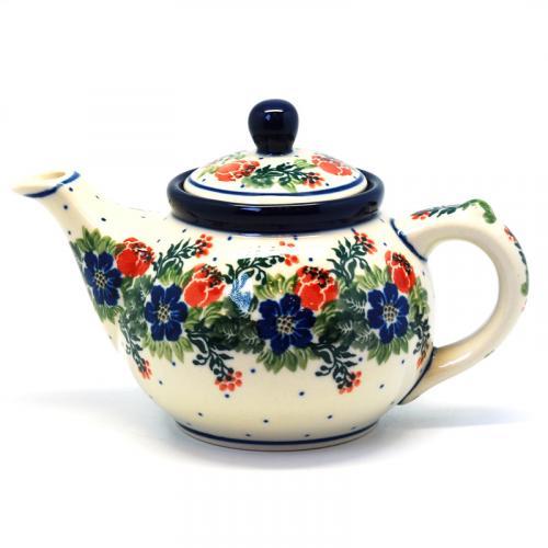 """Чайный заварник с ручной росписью """"Лесной веночек"""" - фото"""