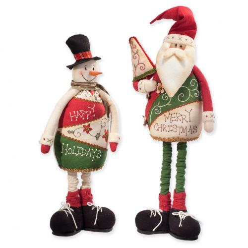 Снеговик и Дед Мороз - фото