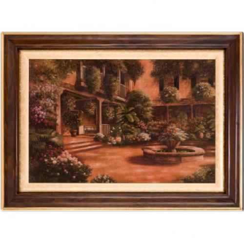 """Большая картина """"Цвети, мой Райский Сад!"""" Бетси Браун, репродукция - фото"""