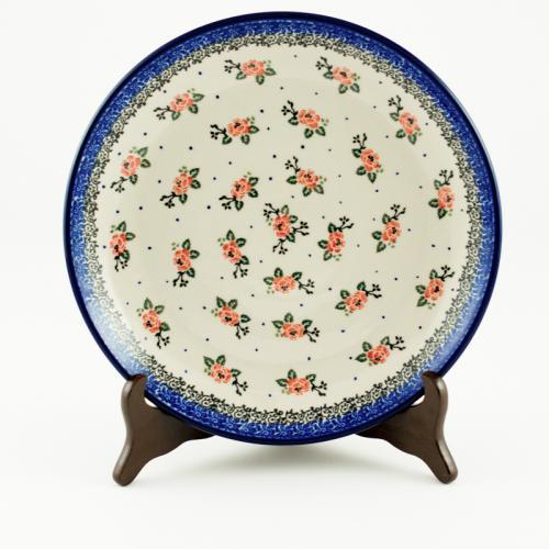 """Тарелки обеденные из прочной керамики """"Чайная роза"""", 6 шт - фото"""