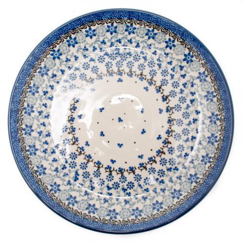 """Набор обеденных тарелок из керамики """"Полевые цветы"""", 6 шт - фото"""