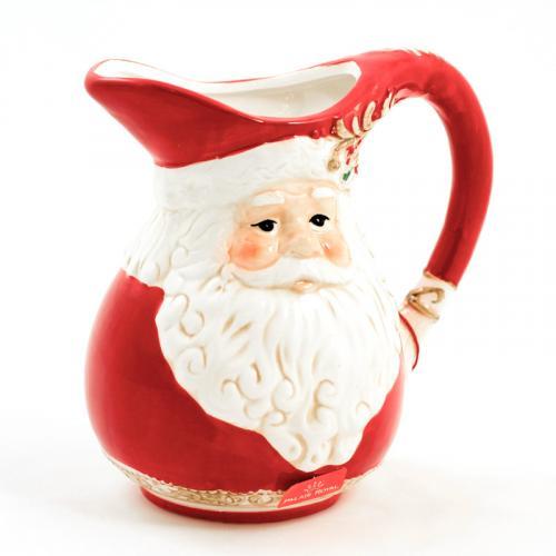 """Праздничный кувшин из керамики """"Санта"""" - фото"""