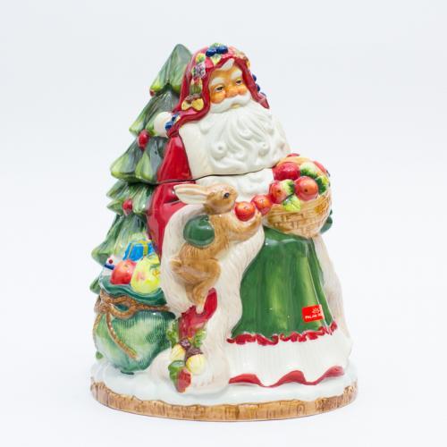 Большая шкатулка Санта - фото