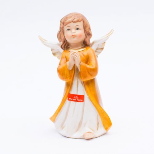 Декоративная статуэтка-ангел из прочной керамики - фото