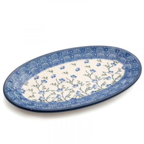 """Блюдо овальное из прочной керамики """"Летний ветерок"""" - фото"""