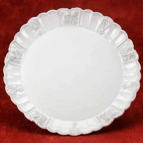 Тарелка круглая - фото