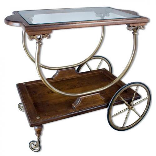 Сервировочный столик - фото