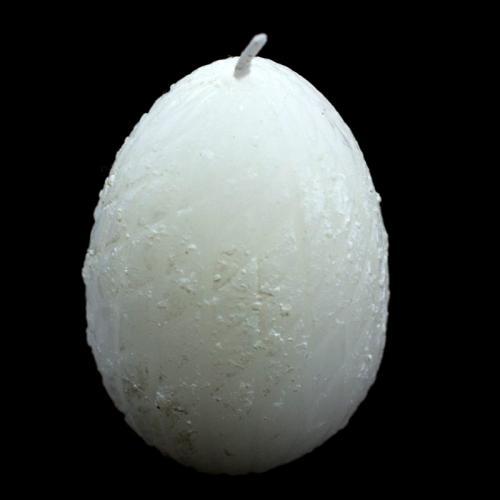Свеча - яйцо - фото