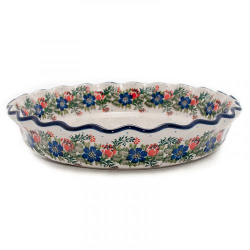 """Керамическая форма для запекания для пирога """"Лесной веночек"""" - фото"""