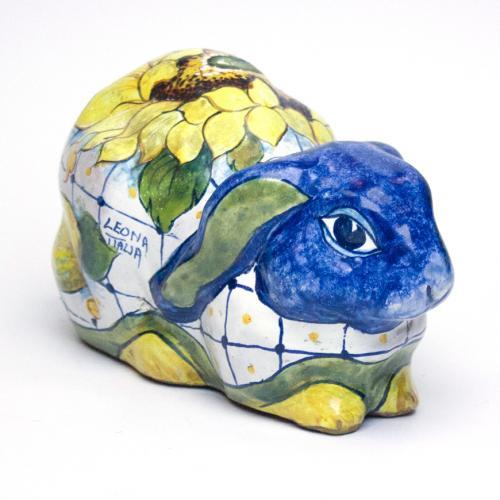 Керамическая статуэтка кролик - фото