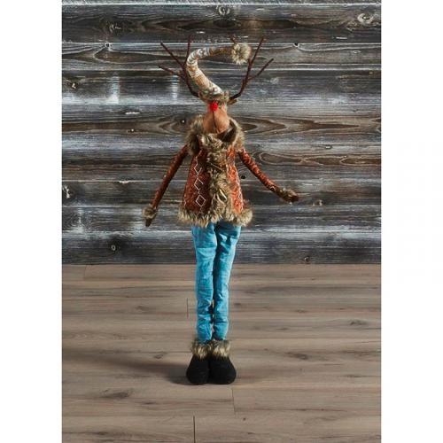 """Новогодняя статуэтка средней величины """"Модный олень"""" - фото"""