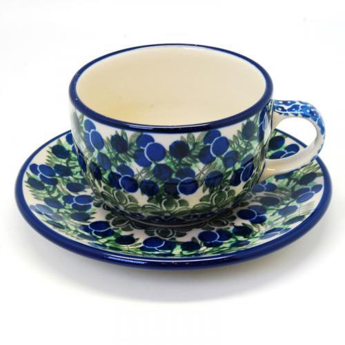 """Набор чайных чашек с блюдцами """"Ягодная поляна"""", 6 шт. - фото"""
