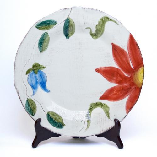 Тарелка обеденная с ручной росписью Portofino - фото