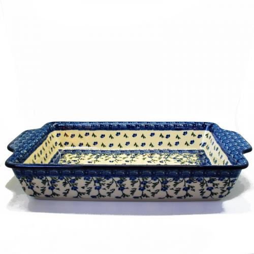 """Прямоугольное керамическое блюдо для выпекания """"Летний ветерок"""" - фото"""