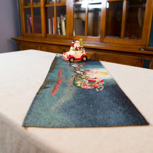 """Гобеленовый раннер для праздничной сервировки """"Рождественская ночь"""" - фото"""