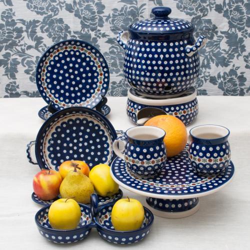 Волшебная синева - темно-синяя обеденная посуда из Польши - фото