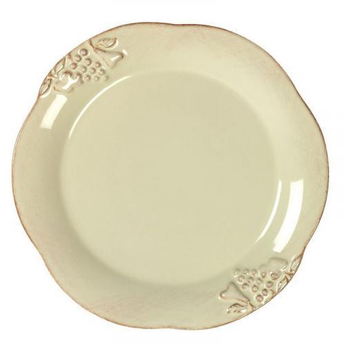 Тарелка для салата кремового цвета Mediterranea - фото