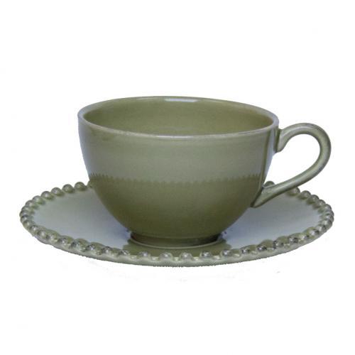Набор чашек с блюдцем 6 шт. Pearl - фото