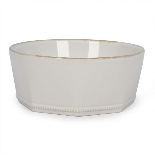 Тарелка для супа белая Luzia - фото