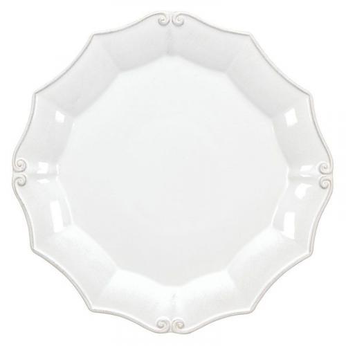 Тарелка подставная белая Barroco - фото