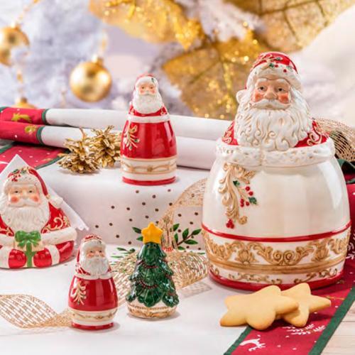 """Новогодняя посуда """"Санта"""" - фото"""