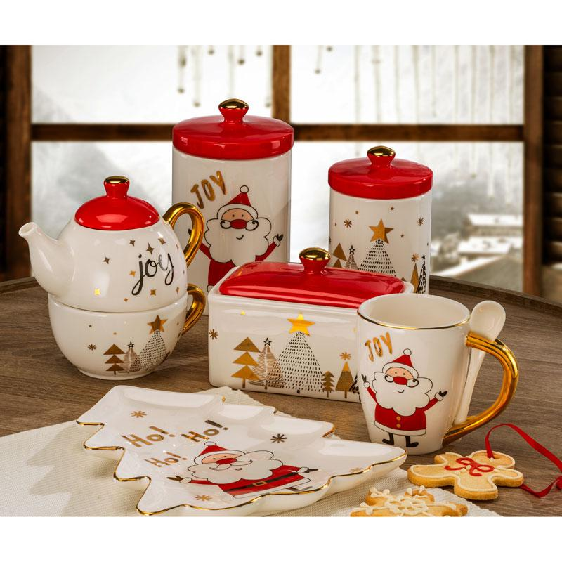 "Коллекция новогодней керамики ""Хо-хо-хо"" - фото"