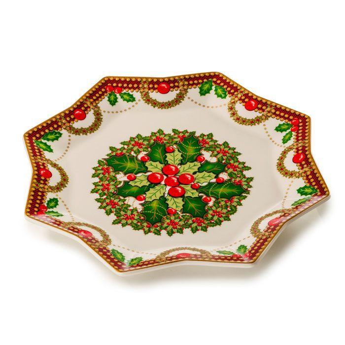 Оригинальное восьмиугольное блюдо «Исполнение желаний» - фото