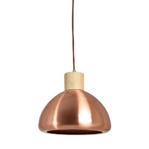 Подвесной светильник розовое золото в стиле лофт - фото