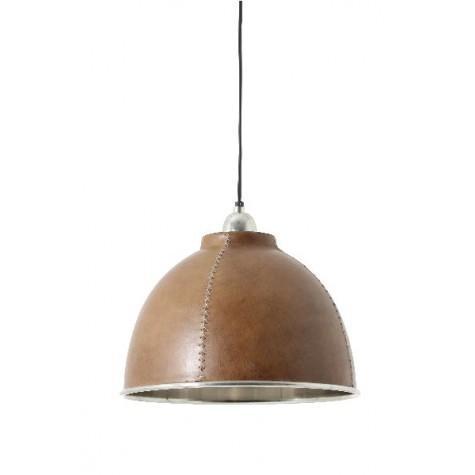 Подвесной светильник коричневый - фото
