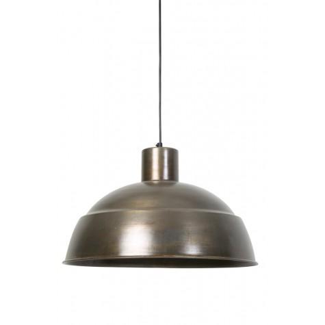 Подвесной светильник бронзовый в стиле лофт - фото