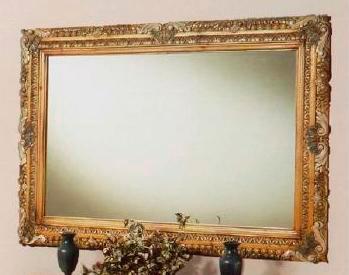 Зеркало настенное - фото