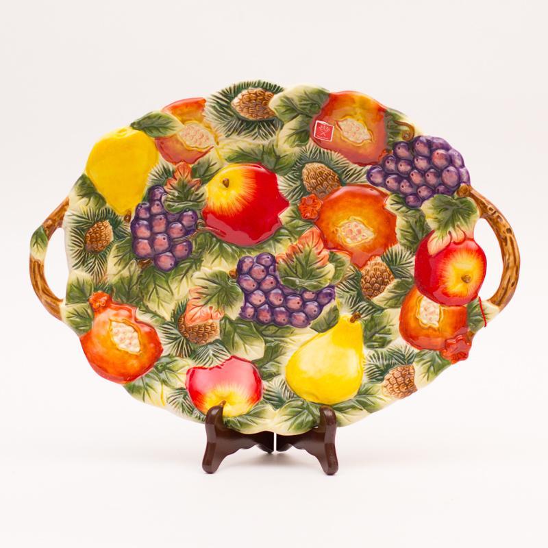 Новогодняя фруктовница - фото