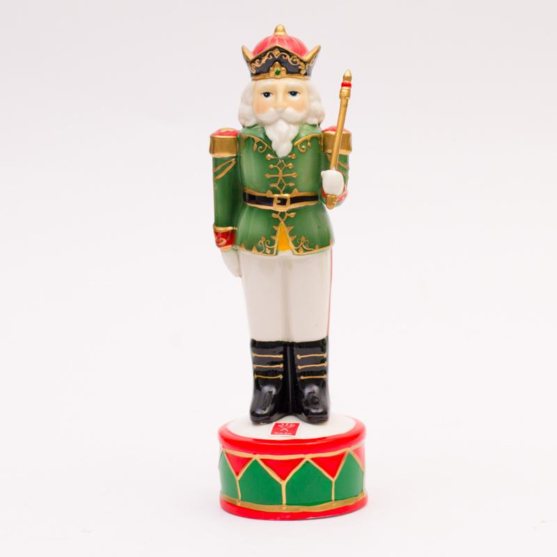 "Декоративная статуэтка ""Солдат в зеленом мундире"" - фото"