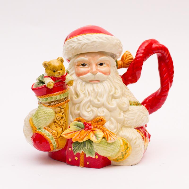 Чайничек Дед Мороз - фото