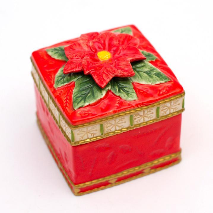 Шкатулка новогодняя - фото