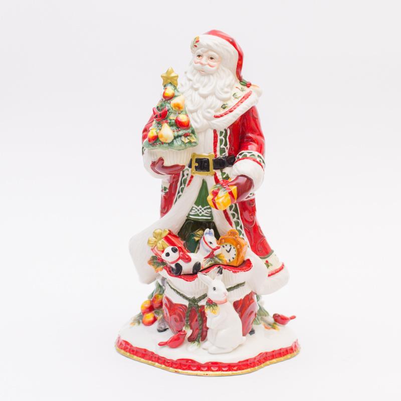 Большая статуэтка Санта - фото