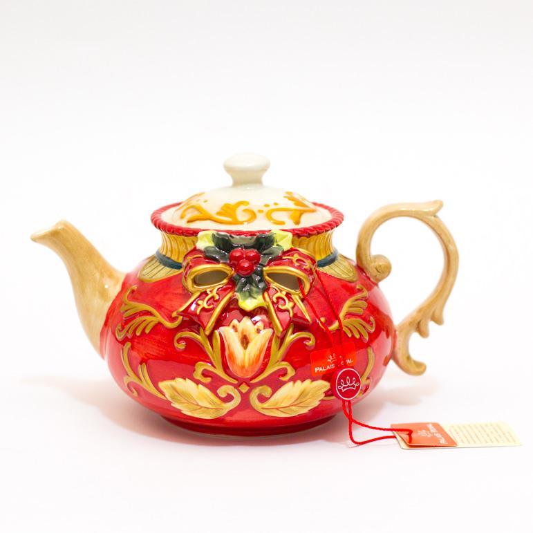 Чайник Новогодний бант - фото