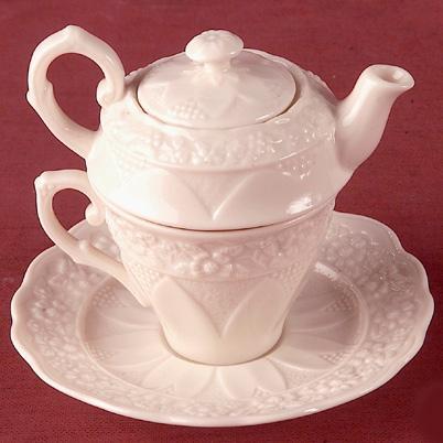 Чашка-чайничек - фото