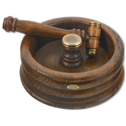 Орешница деревянная с молоточком Capanni - фото