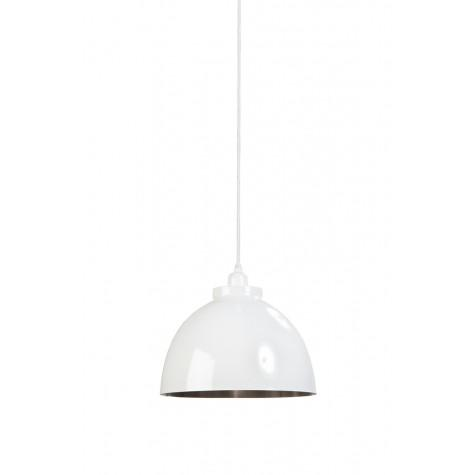 Подвесной светильник белый в стиле лофт  - фото