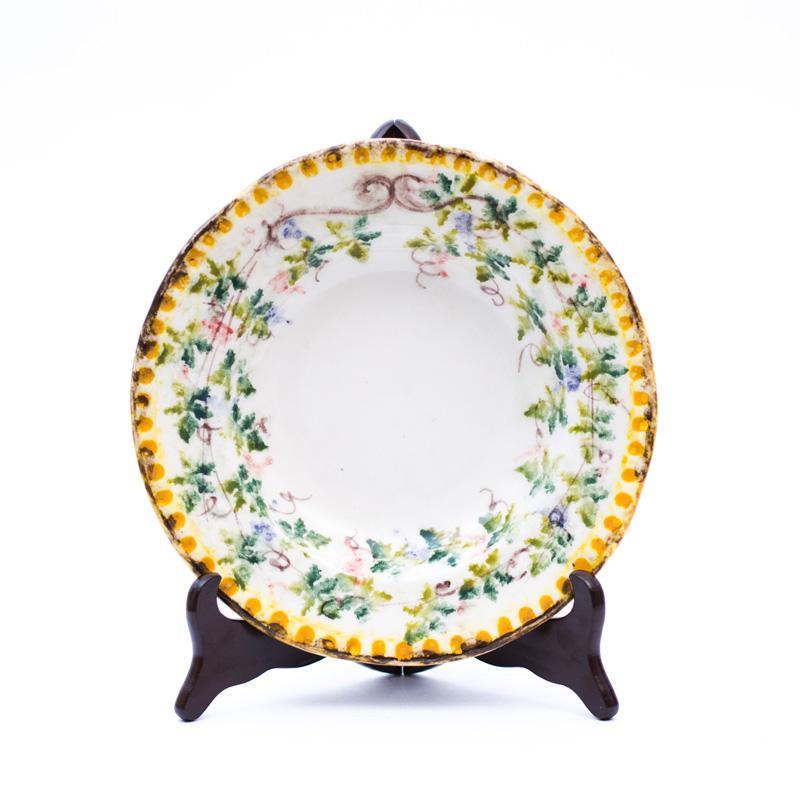Набор тарелок для супа Bizzirri Амуры 22 см 6 шт. - фото